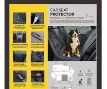 """Go Pets! Deluxe Car Seat Cover (58"""" x 54"""")"""