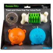 Premier Pet Dog Toy Value Pack